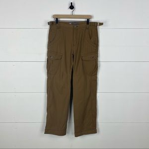 REI Mens Brown Cargo Jeans Size 34/32